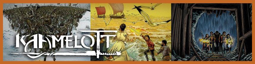 Kaamelot, la BD. Les trois premières tomes